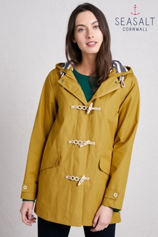 Seasalt Yellow Long Seafolly Jacket Pear