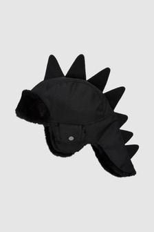 恐龍圖案鋪毛飛行帽 (小)