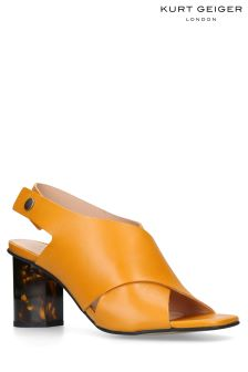 Kurt Geiger London Mustard Stride Sandal