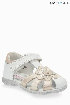 Start-Rite White Primrose Shoe