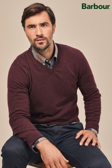 Barbour® Essential Lambswool V-Neck Jumper