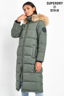 Superdry Khaki Everest Coat