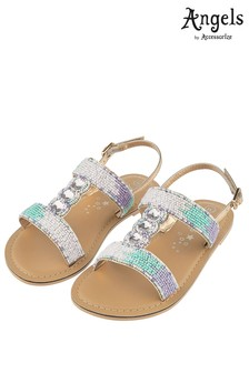 Angels by Accessorise Beaded Ombre Mermaid Sandal