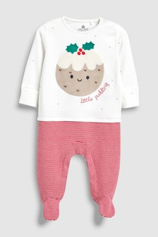 Little Pudding Sleepsuit (0mths-2yrs)