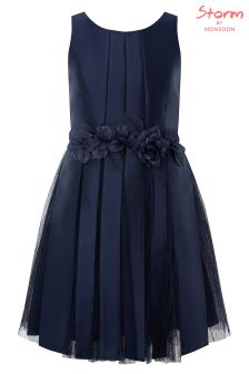 Monsoon Navy Harmony Prom Dress