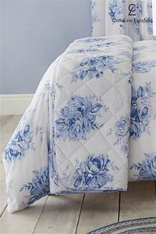 Catherine Lansfield Canterbury Floral Throw