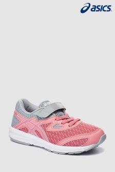 Asics Pink/Grey Amplica Velcro