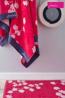 Joules Penzance Floral Bath Mat