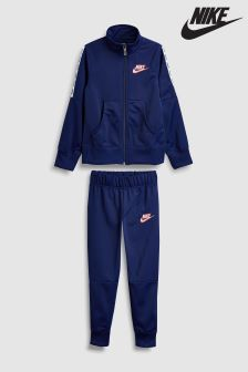 Nike Navy Tricot Tracksuit