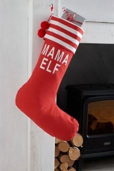 Family Elf Stocking