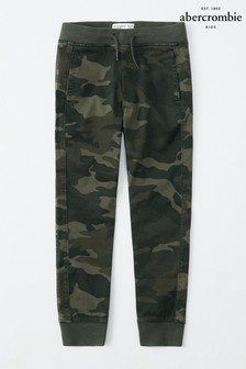 Abercrombie & Fitch Camo Print Taped Jogger