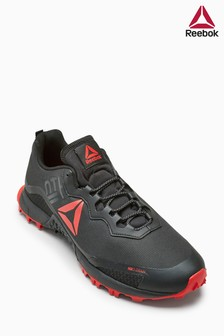 Reebok Black/Red Terrain