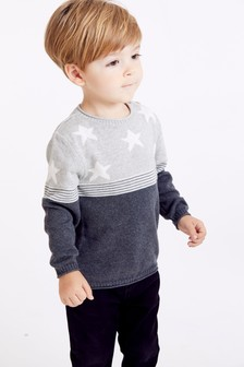 Star And Stripe Jumper (3mths-7yrs)