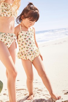 Floral Swimsuit (3mths-6yrs)