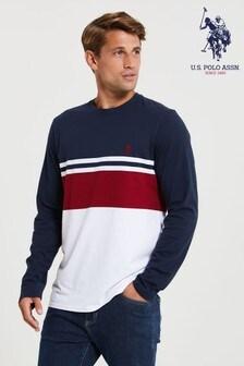 U.S. Polo Assn. Varsity Block T-Shirt