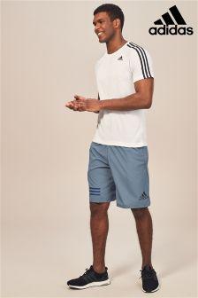 adidas Gym 4KRFT Climalite Shorts, Blau