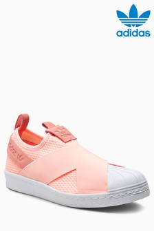 adidas Originals Pink Superstar Slip
