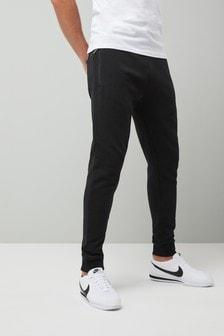 Men's Clothing Adidas Sweatpant Jogger Black Size Large Clothing, Shoes & Accessories