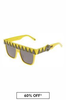 Stella McCartney Kids Yellow Sunglasses