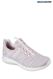 Skechers® Pink Ultra Flex Capsule High Apex Slip-On