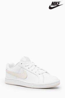 Nike White/Pink Court Royale