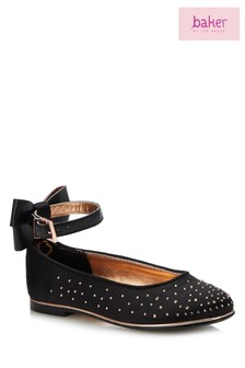 baker by Ted Baker Black Occasion Pump