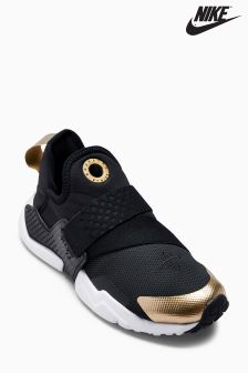 Nike Black/Gold Huarache