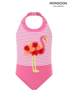 Monsoon Bright Pink Frankie Flamingo Swimsuit