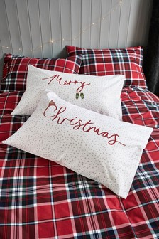 Set of 2 Merry Christmas Pillowcases