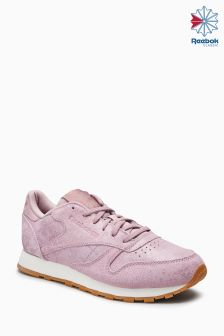 Reebok Pink Suede Classic