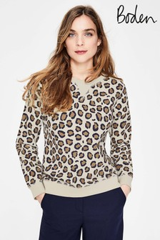 Boden Brown Arabella Sweatshirt