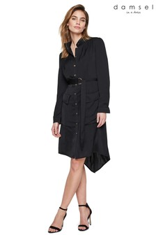 Damsel In A Dress Black Tulia Tunic Dress