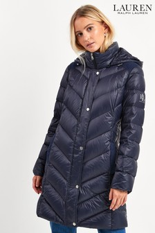 Lauren Ralph Lauren® Navy Padded Down Coat