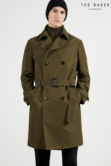 Ted Baker Green Turtle Trench Coat