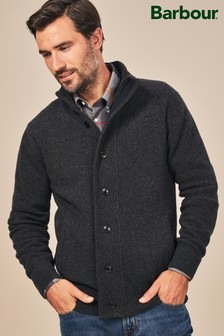Barbour® Grey Patch Jumper