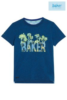 baker by Ted Baker Palm Tree Logo Tee
