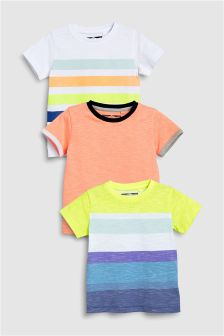 Stripe T-Shirts Three Pack (3mths-6yrs)