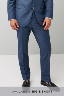 Tailored Fit Wool Blend Suit: Trouser