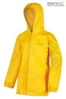 Regatta Yellow Kids Stormbrk Jacket