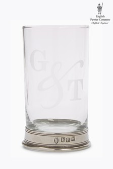 English Pewter Company 12oz Gin And Tonic Glass