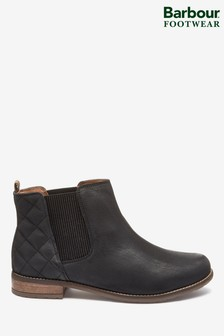 Barbour® Abigail Black Boots