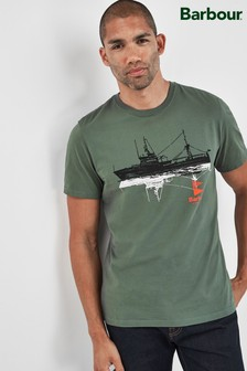 Barbour® Green Lowestoft T-Shirt
