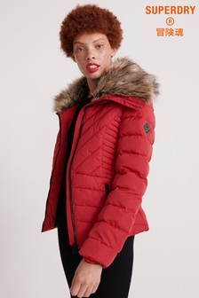 Superdry Red Arctic Jacket