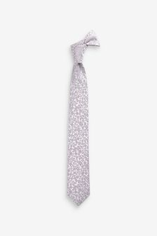 Floral Silk Tie (1-16yrs)
