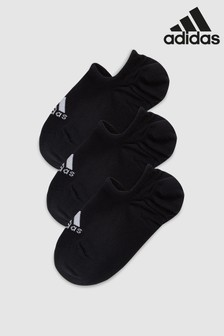 adidas Black Invisible Socks Three Pack