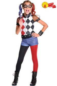 Rubies Deluxe Harley Quinn Fancy Dress Costume