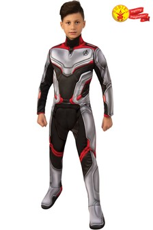 Rubies Avengers End Game Deluxe Team Suit Fancy Dress Costume