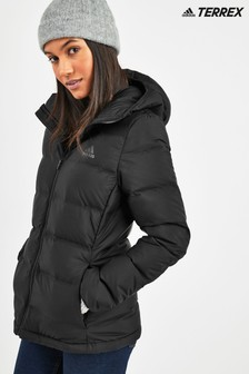 adidas Black Helionic Hooded Jacket