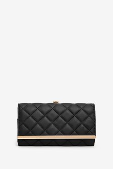 Quilted Frame Purse