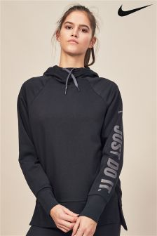 Nike Dry Black Training Cowl Neck Hoody